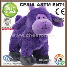 Offering a range of stuffed purple sheep