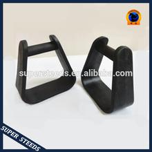Western Saddle Plastic Stirrups BLACK