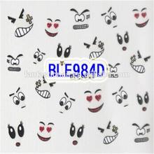 Facial Expression and SpongeBob SquarePants Design 3D Nail Stickers