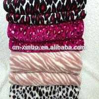 Hot sale 100% Polyester Various Animal Skin Printed Coral Blanket & Throw