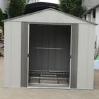 Hampton Deluxe Apex Metal Shed & Support Frame - 6 x 6ft.