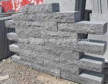 china blue raw limestone steps brick