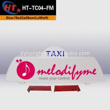 PP plastic popular taxi topper advert board