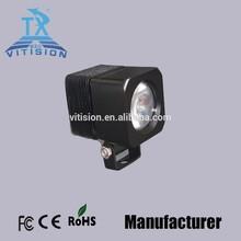 10w 2.5inch IP67 flood spot beam 12V-30V agricultural mechanical cars led work light