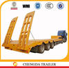 for Kenya countries road condition enclosed fiberglass cargo trailers with ladder /ramp