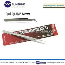 Quick tweezer for mobile laptop computer repair tools eyelash tweezers QA-11