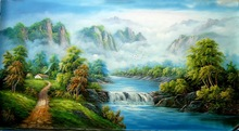Guangzhou Manufacturer directly offer landscape oil painting