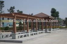 Made in china WPC pavilion,grape trellis