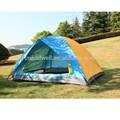 outdoor duas pessoas de camada dupla de viagem barraca de camping com duas camas