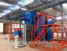 3 arm 5 station rotomolding machine meatball maker machine plc rotomolding machine