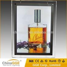 Window Display LED Acrylic Lighting Poster Frame