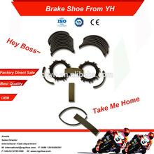 Chinese Manufacturer Motorcycle Brake Shoe Lining Factory Sale