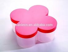Plastic cookie container