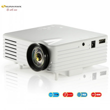 white and black Cheapest Full HD easy operation projector for Kids