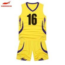 2015 Fashion 100% Polyester Customized Basketball Women Wear