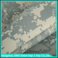 Durable 100% polyester military camouflage fabric