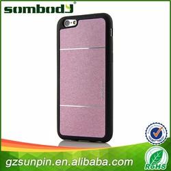 4.7 inch tpu+pu phone case for iphone 6