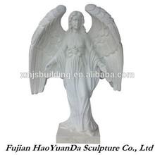 Modern Outdoor Decoration Angel Stone Sculpture