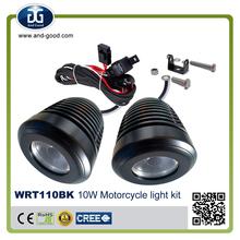 ledlight for cars/ snowmobile led spotlight headlight, universal led motorcycle lamp motorcycle lights kit for Yamaha