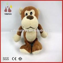 Factory direct cute small plush toy custom plush toy animal monkey