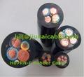 alta temperatura da borracha de silicone cabo flexível