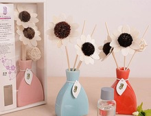 2015 New year gifts sola flower aroma reed diffuser for air freshener