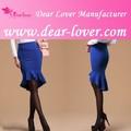 chegada nova high low hemline babados mulheres transparente longa saia padrão