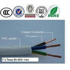 300/500v copper conductor pvc insulated 3 core 2.5mm flexible wire