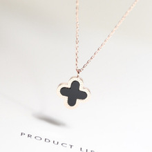 Fashion Necklace Four Leaf Clover(SWTAA284)