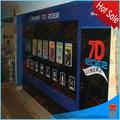atração móvel 5d 5d cinema projetor