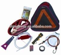 car tow strap for car emergency tools kit safety belt cutter car jump starter 24v car-emergency tool