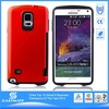 custom stylish silicone skin cover for samsung galaxy note 4