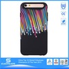 artist colored drawing real water drops case for iphone 6+