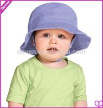 Plain cotton woven Baby caps