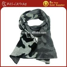 2015 fashion jacquard military camouflage scarf