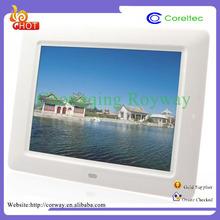 MPEG/MPG/DAT/3GP Automatic Shutdown Thin Film Transistor Frames Photo Charger China Sex Video Digital Photo Frame
