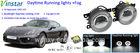 Super brightness E4 approved led fog light for Porsche led drl fog light