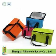 Colorful Non Woven Cooler Bag, Aluminum foil Cooler Bag