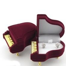 Increíble Mini Piano de la forma de la joyería caja de venta al por mayor