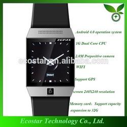 Sport type and Plastic Material digital sport smart watch