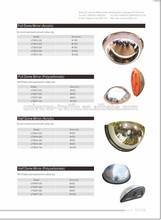 Full dome mirror/acrylic dome mirror/polycarbonate dome mirror