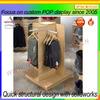 Cedar wood display shelf clothes
