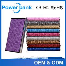 dark gold/ black+white/ red/ rose red, etc color super polymer power bank