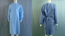 medical Hospital Disposable SMS Blue Surgical Gowns