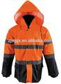 Utilisé uniforme veste d'hiver orange
