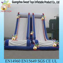 sweet toys large plastic inflatable floating long water slide for sale