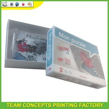 Chinese puzzle jigsaw box manufacturer