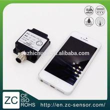 Dual Axis M12 MEMS Aluminum Low Cost Inclination Sensor in Scissor Aerial Lifts (ZCT205L-LPS-75)