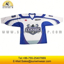 authentic wholesale hockey jerseys blank custom made ice hockey jerseys