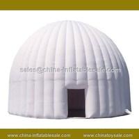 Guangzhou China good quality inflatable big white tent